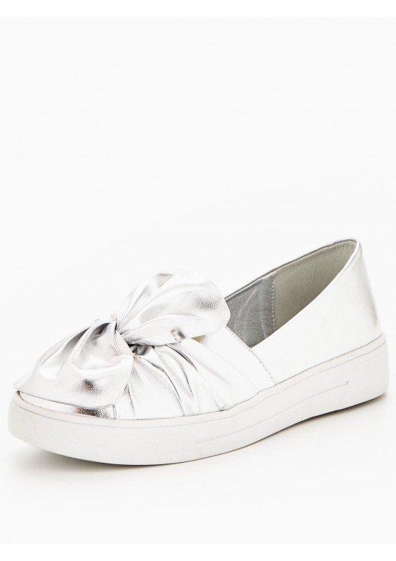 Srebrne buty V by Very Nowe rozm 39