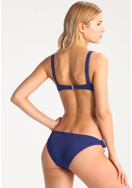 Solid & Striped THE JANE Bikini Bottoms Navy/Cream S
