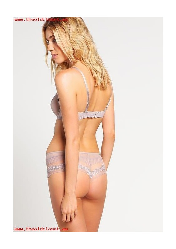 PASSIONATA MISS COQUETTE PANTY GRIS MINERAL