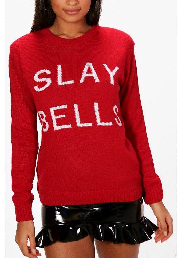 Boohoo sweter świąteczny damski rozm L