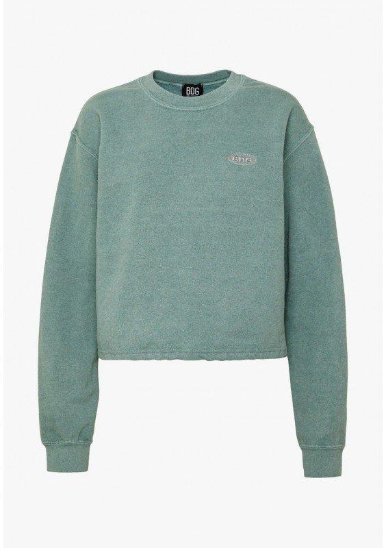 BDG Urban Outfitters BUBBLE HEM - Bluza