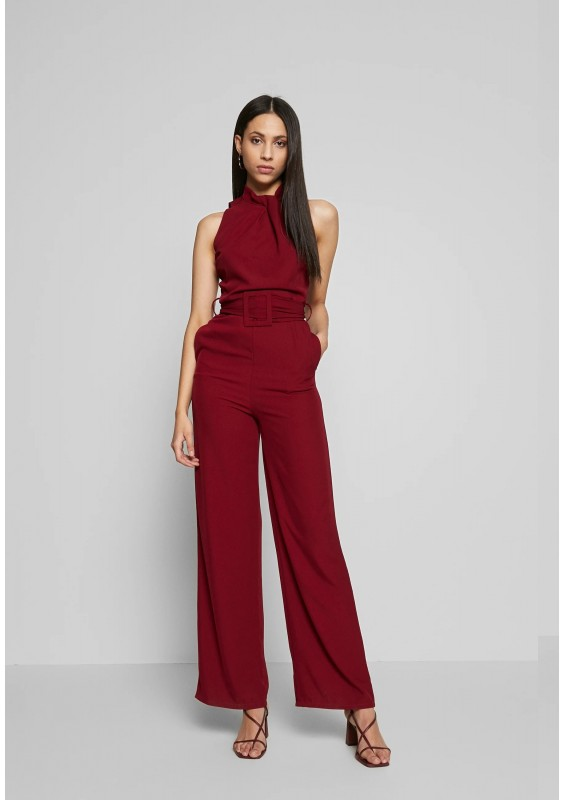 WAL G TALL HIGH NECK BELTED - Kombinezon