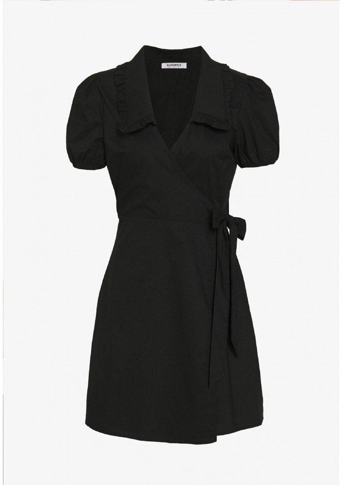 Glamorous DRESS WITH RUFFLE COLLAR - Sukienka letnia